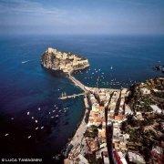 Ischia Isolotto di Ischia Minore dal cielo