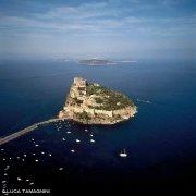 Isolotto di Ischia Minore dal cielo