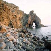 Arcipelago Toscano, Isola di Capraia, Arco del Reciso sul mare