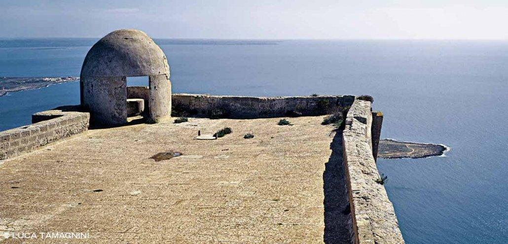 Isole Egadi Isola di Favignana Forte Santa Caterina