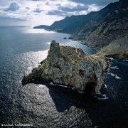 Isole Egadi Isola di Marettimo Punta Troia dal cielo