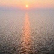Isole Tremiti tramonto sul mare
