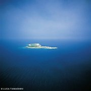Isole Tremiti Isola di Pianosa dal cielo