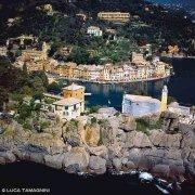 Portofino dal cielo (foto aerea)