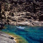 Isola di Linosa caletta nei pressi di I Fili