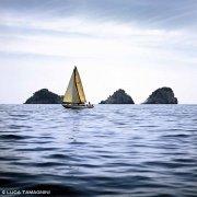 Costiera Amalfitana Positano Isolotti Li Galli barca a vela