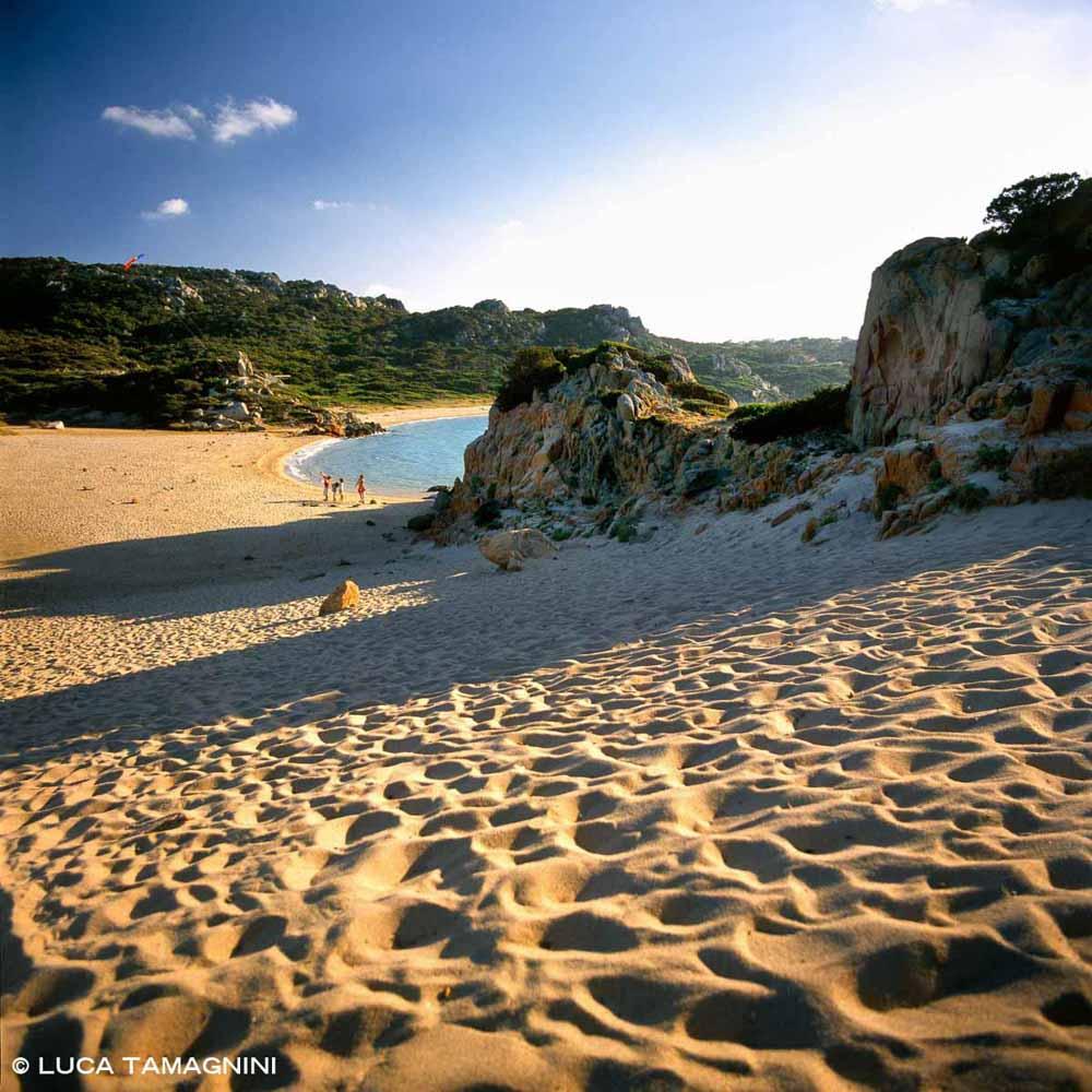 Isola di La Maddalena Spiaggia Spiaggia Monti d'à Rena / Luca Tamagnini Catalogo 2005-023
