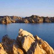 Arcipelago di La Maddalena, Isola di Razzoli Cala Lunga al tramonto / Luca Tamagnini Catalogo 2005-034