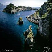 Isole Li Galli, La Castelluccia dal cielo