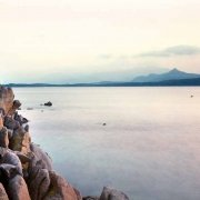 Sardegna, Isola di Molara graniti al tramonto (Foto Mare Sardegna / Luca Tamagnini Catalogo 2006-002