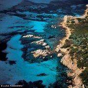 Isola di Molara, bassi fondali detti Le Piscine (foto aerea) / Luca Tamagnini Catalogo 2006-020