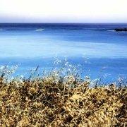 Foto Mare Sicilia. Foto Mare Sicilia. Fontane Bianche la costa nei pressi della Foce del Fiume Cassibile - Catalogo Foto Mare Sicilia (Paesaggi marini italiani)
