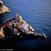 Portovenere, Chiesa di San Pietro dal cielo (foto aerea)