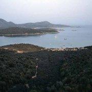 Sardegna, Porto Malfatano visto dall'alto sullo sfondo Capo Spartivento / Luca Tamagnini Catalogo 2008-007