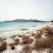 Sardegna, Capo Teulada, Porto Zafferano barconi di clandestini spiaggiati / Luca Tamagnini Catalogo 2008-014
