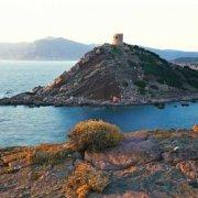 Sardegna, Torre del Porticciolo da Cala Viola al tramonto / Luca Tamagnini Catalogo 2008-015