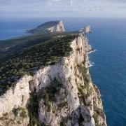 Sardegna, Capo Caccia Punta Cristallo Torretta dal cielo (foto aerea) / Luca Tamagnini Catalogo 2008-020