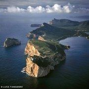Sardegna, Capo Caccia dal Cielo (foto aerea) / Luca Tamagnini Catalogo 2008-031