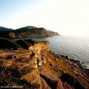 Sardegna, Porticciolo, Cala Viola sullo sfondo il mare e il promontorio di Capo Caccia / Luca Tamagnini Catalogo 2008-040
