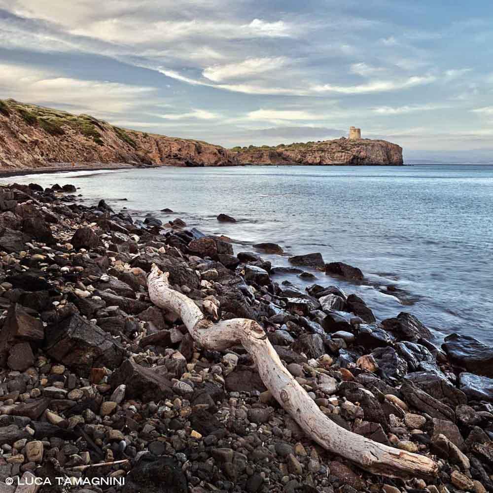 Sardegna, Isola di Sant'Antioco Baia e Spiaggia di Torre Cannai / Luca Tamagnini Catalogo 2009-008