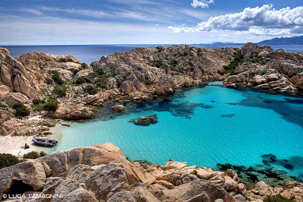 Sardegna, Arcipelago di La Maddalena, Isola di Caprera, Cala Coticcio (detta anche