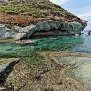 Sardegna, Bosa Marina Cala E Moru con gommone / Luca Tamagnini Catalogo 2009-025