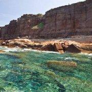 Sardegna, Isola di Sant'Antioco la costa nei presso dei Nido dei Passeri / Luca Tamagnini Catalogo 2009-031