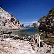 Sardegna, Isola di San Pietro Cala Vinagra profonda insenatura del mare / Luca Tamagnini Catalogo 2009-033