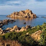 Sardegna, Isola Ogliastra scogli di granito variopinti