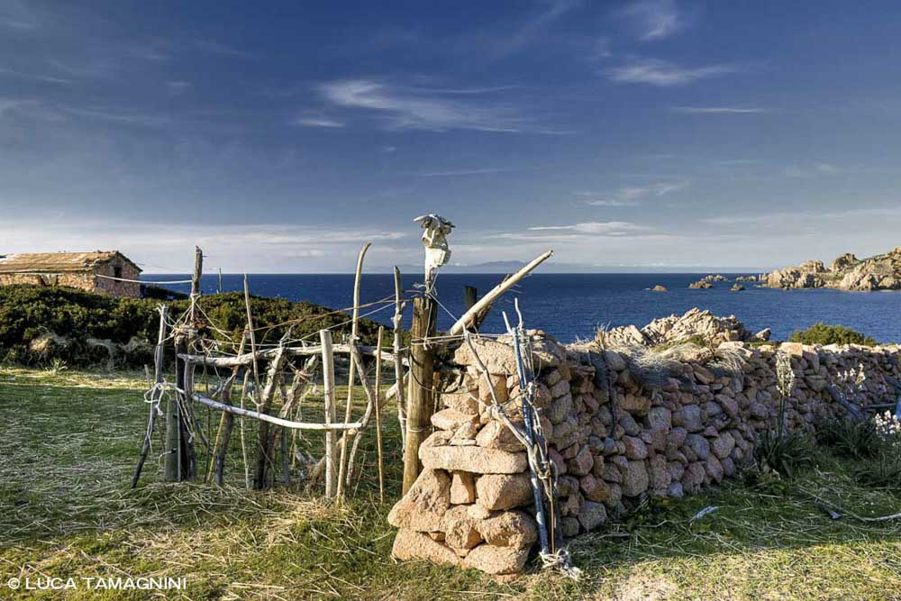 Sardegna, Costa Paradiso, un ricovero di pastori (Stazzu) sul mare a Porto Leccio / Luca Tamagnini Catalogo 2010-005