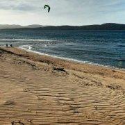 Sardegna, Kite surf sulla Spiaggia di Porto di Liscia nei pressi di Porto Pollo / Luca Tamagnini Catalogo 2010-015