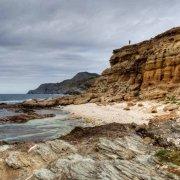 Sardegna, Costa Nurra, Cala Ebi Dozzi vista dalla piccola spiaggia / Luca Tamagnini Catalogo 2010-025