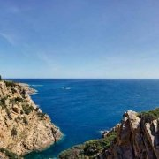 Sardegna, il Faro di Capo Spartivento sullo sfondo il mare / Luca Tamagnini Catalogo 2010-034