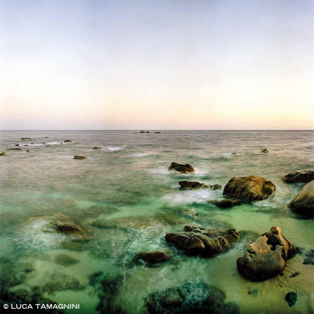 Capo Carbonara scogli di Punta Santo Stefano