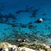 Sardegna, Cagliari Sella del Diavolo mare e scogli dall'alto / Luca Tamagnini Catalogo 2015-007