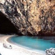 San Nicola Arcella la spiaggia nascosta dalla montagna dell'Arcomagno (Categoria Foto Mare Calabria)