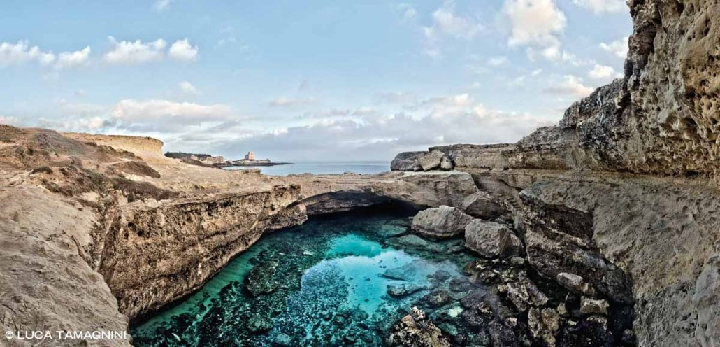 Salento Roca Vecchia Grotta della Poesia