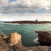 Una baia dell'Area Marina Protetta di Torre Guaceto