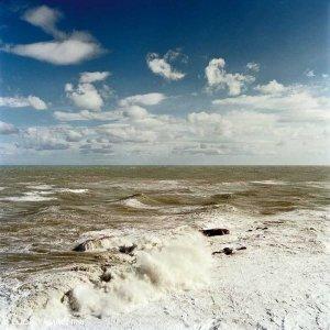 Vasto Punta Penna mare in tempesta