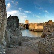 Tricase la Torre e le cave di tufo di Marina Serra sul mare