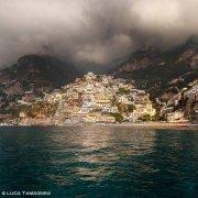 Costiera Amalfitana Positano dal mare