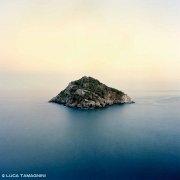 Isola di Bergeggi nelle ultime luci della sera