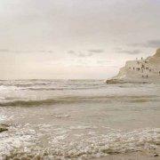 Foto Mare Sicilia. Realmonte Scala dei Turchi mare in controluce