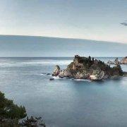 Foto Mare Sicilia. Taormina Mazzarò Isola Bella spiaggia e mare