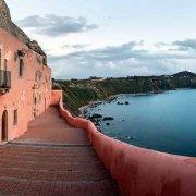 Capo Milazzo, Santuario Sant'Antonio a picco sul mare