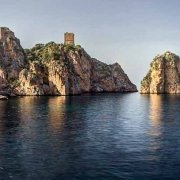 Foto Mare Sicilia. Tonnara e Faraglioni di Scopello ripresi dal mare