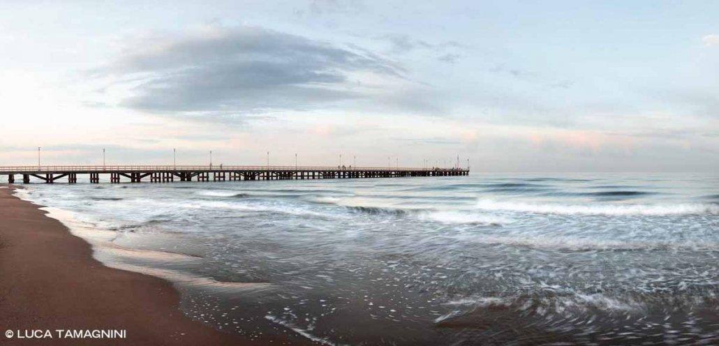 Foto Mare Toscana. Versilia Spiaggia e Pontile di Forte dei Marmi