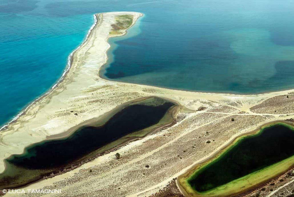 Foto Mare Sicilia. Oliveri Laghetti di Marinello visti dal Santuario di Tindari