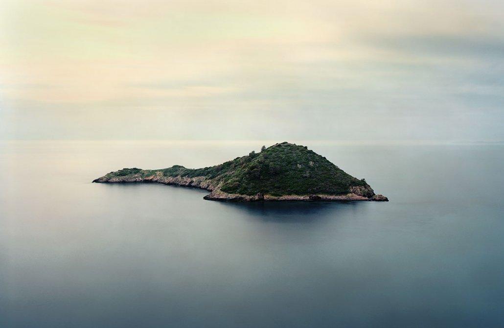 Porto Ercole. Isolotto. piccola isola del Monte Argentario