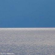 Foto Mare - Mare e cielo. Nome dell'opera: Golfo di Gagliari, 2013 - Trittico Mare Cielo N°3 30x30cm - Luca Tamagnini Catalogo 2013-026A - (Immagini Mare / Album Italia)